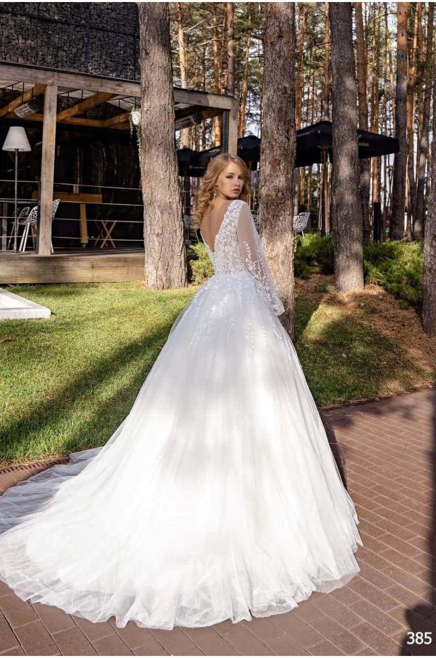 """Kolekcja """"Flame"""" 2020, Suknia Ślubna model 385"""