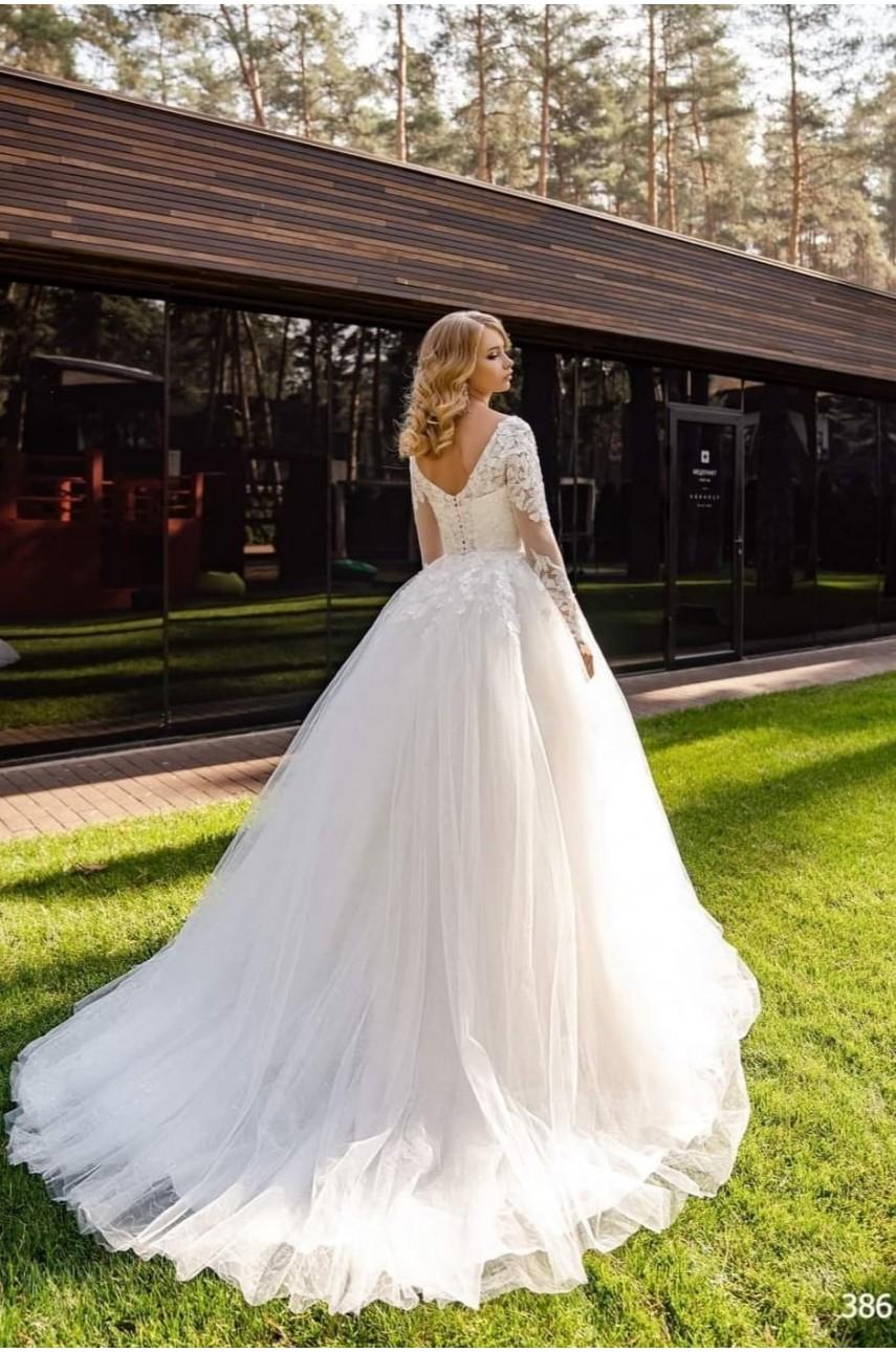 """Kolekcja """"Flame"""" 2020, Suknia Ślubna model 386"""