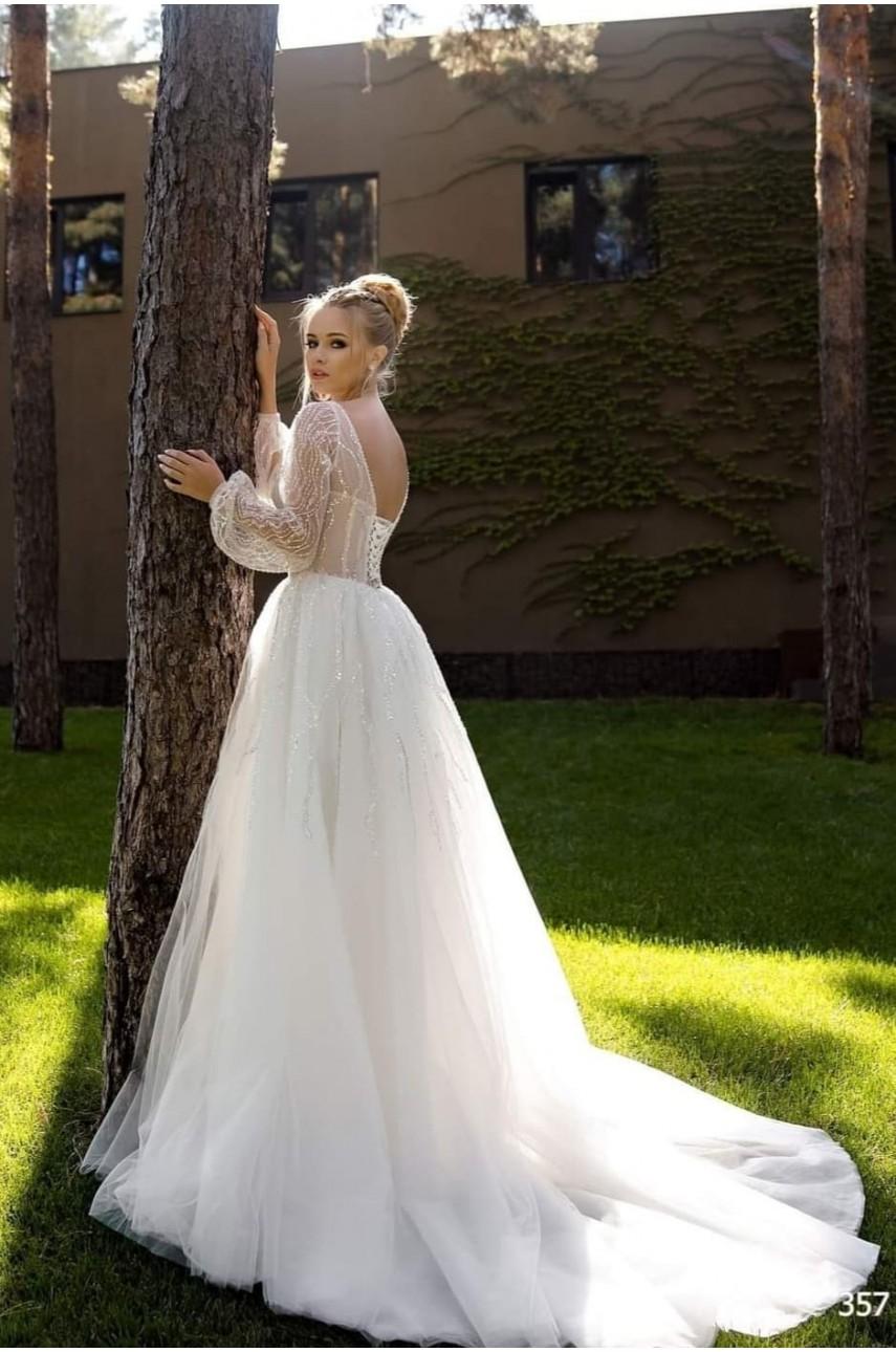 """Kolekcja """"Flame"""" 2020, Suknia Ślubna model 357"""