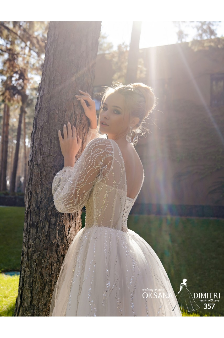 """Collection """"Flame"""" 2020, Wedding Dress model 357"""